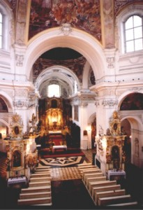 Kloster Lond Innenansicht
