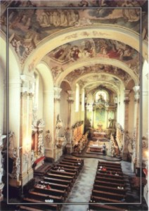 Kloster Obra Innenansicht