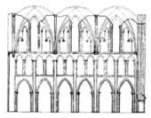 Kloster Hude Zeichnung