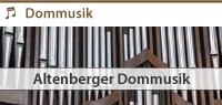 Zur Altenberger Dommusik