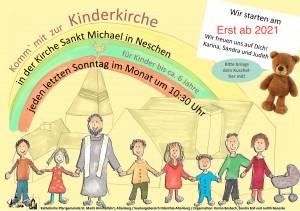 Kinderkirche_Neschen_Plakat 2020_Korrektur